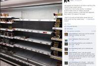 Sainsbury\'s shelves