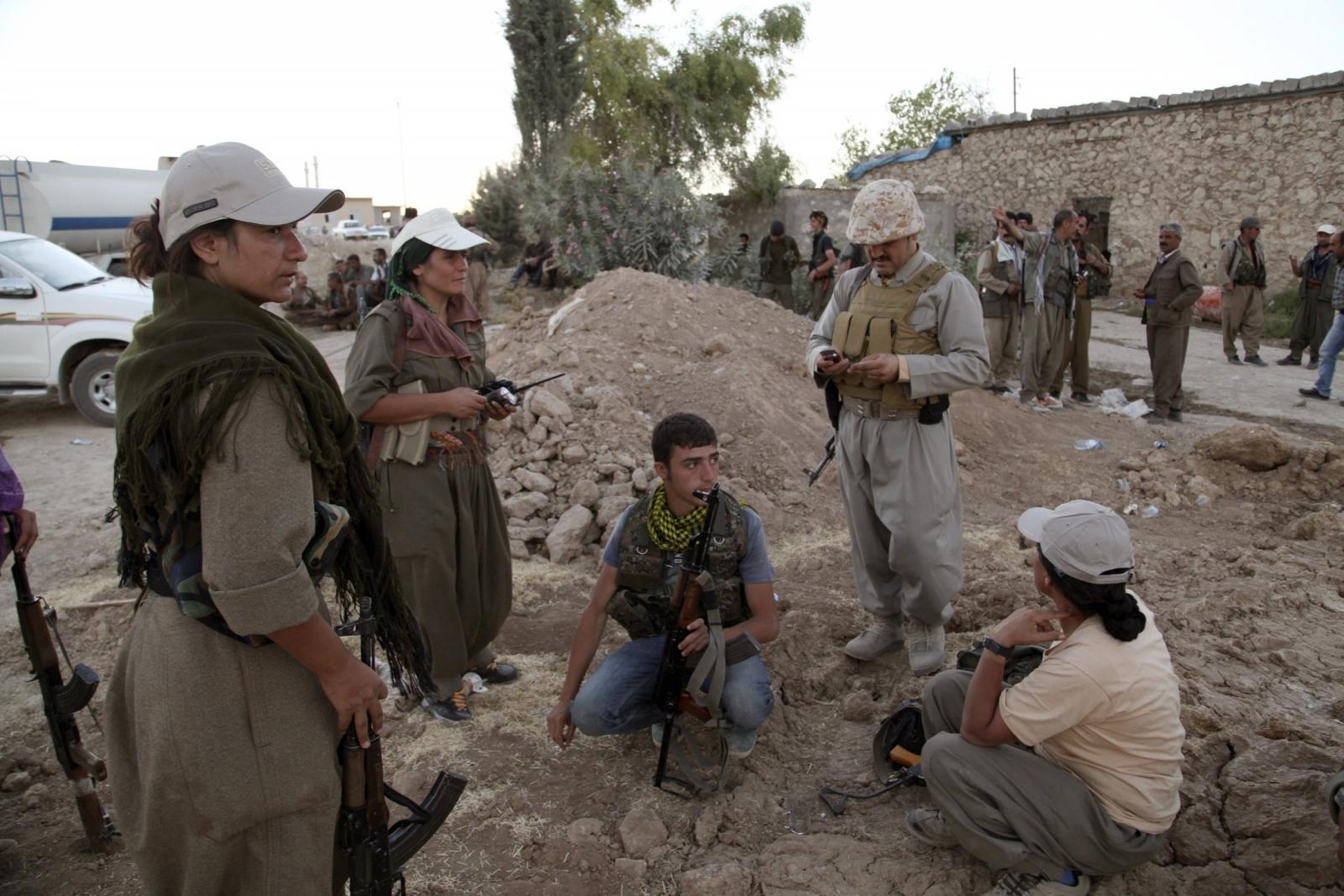 PKK Forces Join Peshmerga in Fight against Islamic State