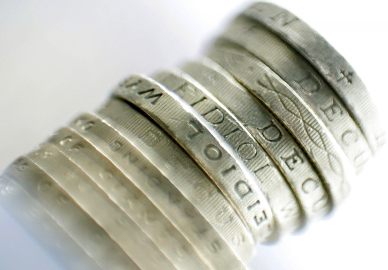 Pile of sterling