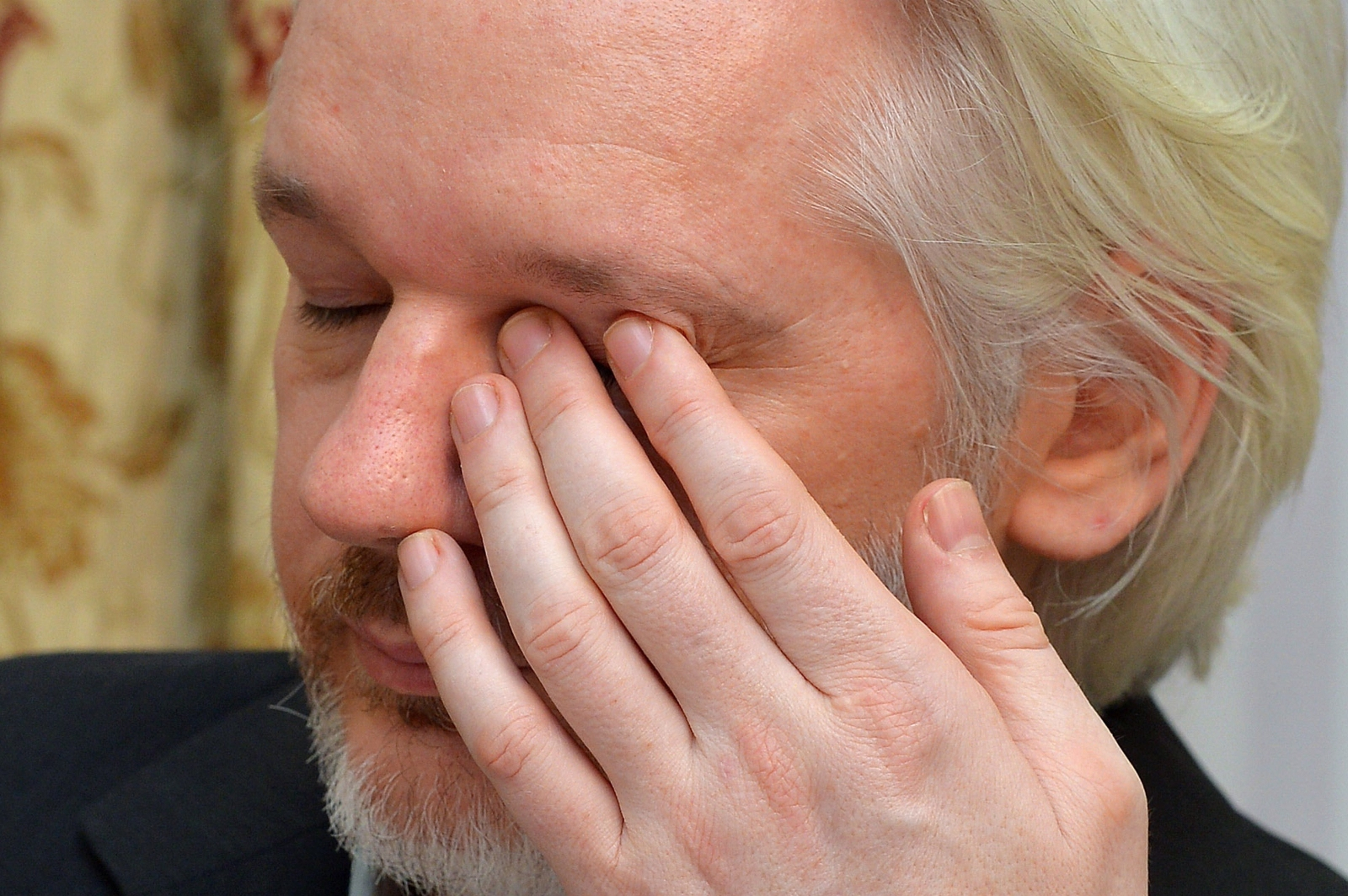 Julian Assange admitted he has health problems from being inside the Ecuador Embassy for two years