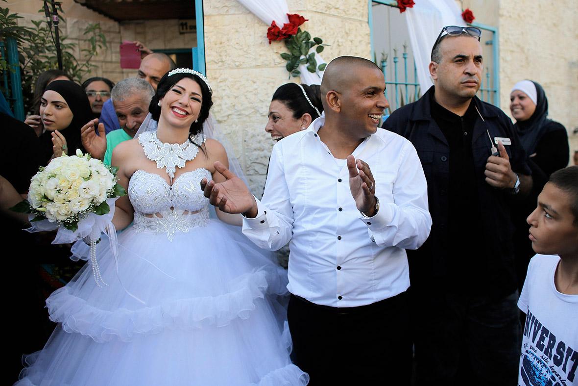 israeli palestinian wedding