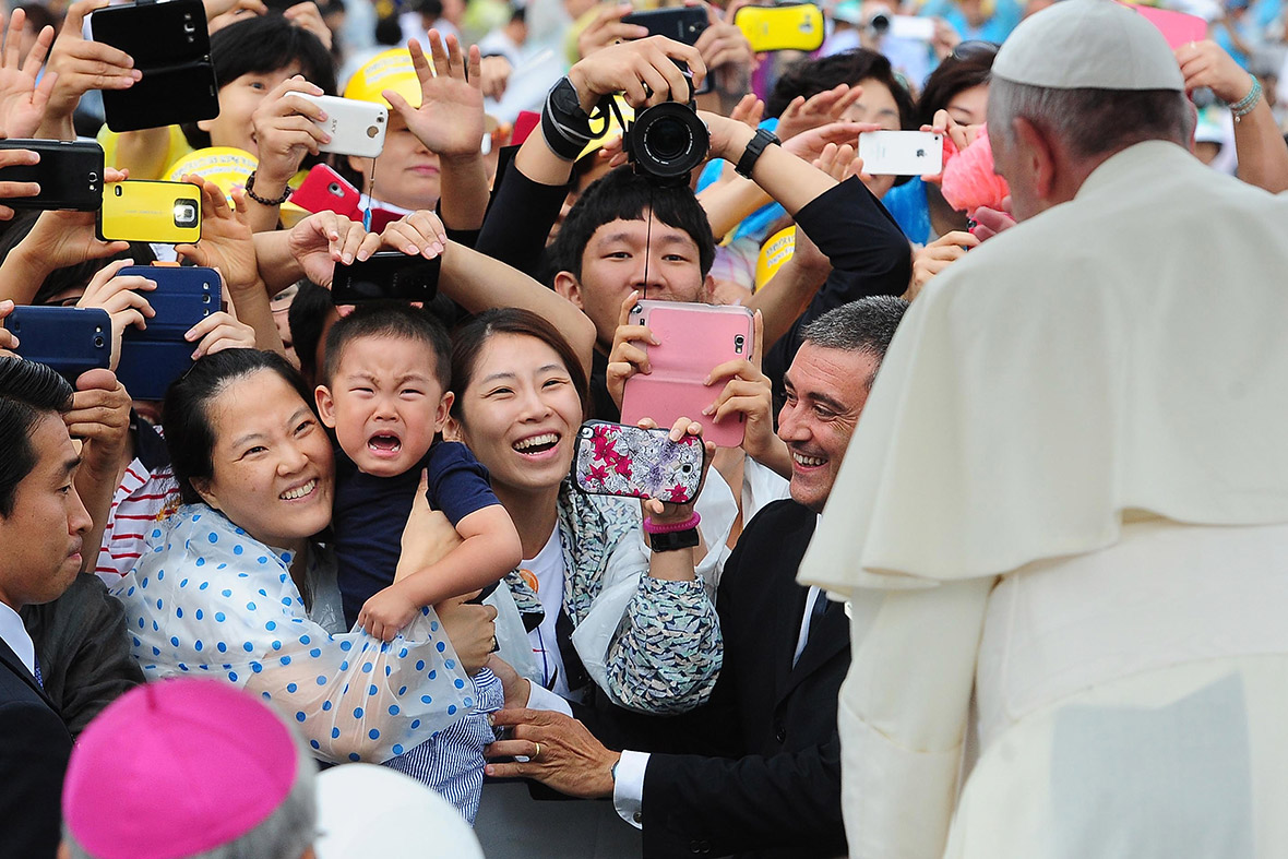 pope south korea