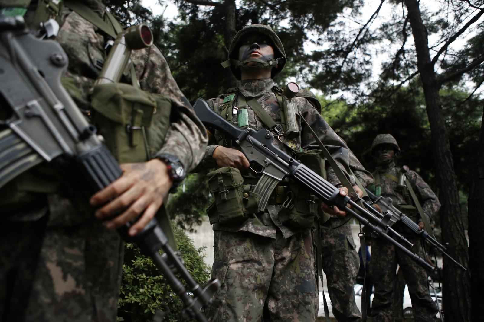 US South Korea drill