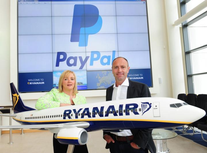 Ryanair Announces PayPal Partnership
