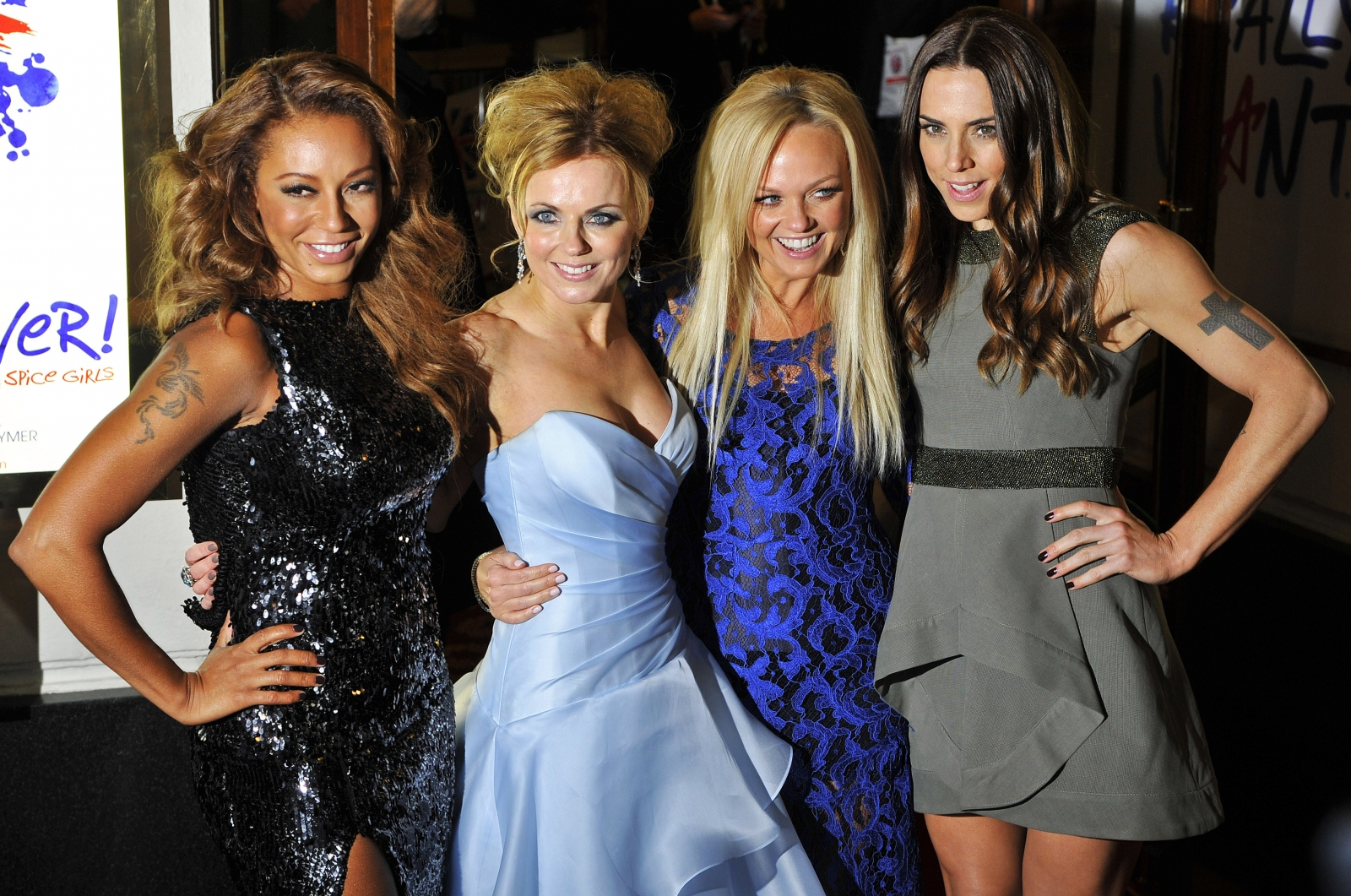 The Spice Girls at the Viva Forever Launch