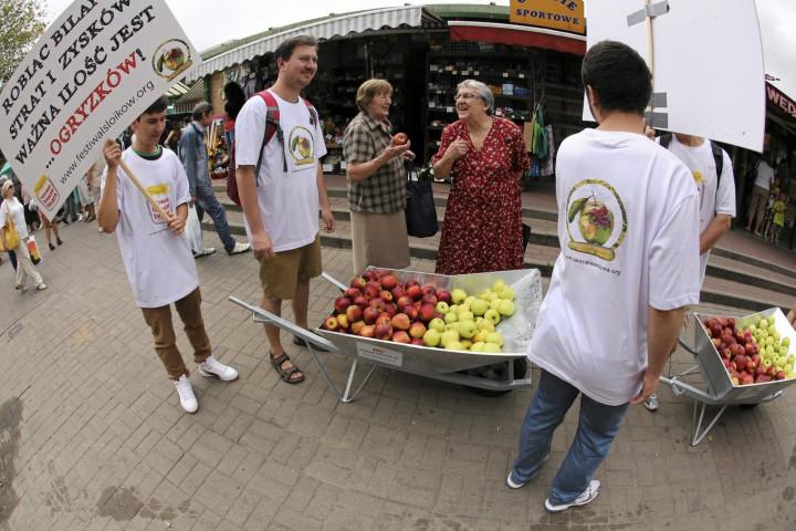 Polish apples