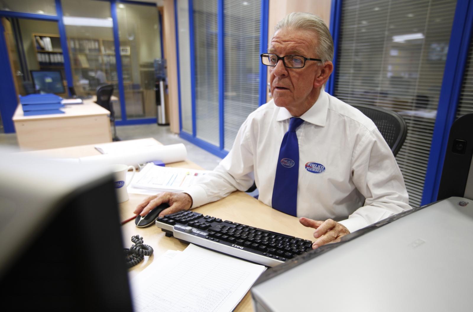 Old worker UK