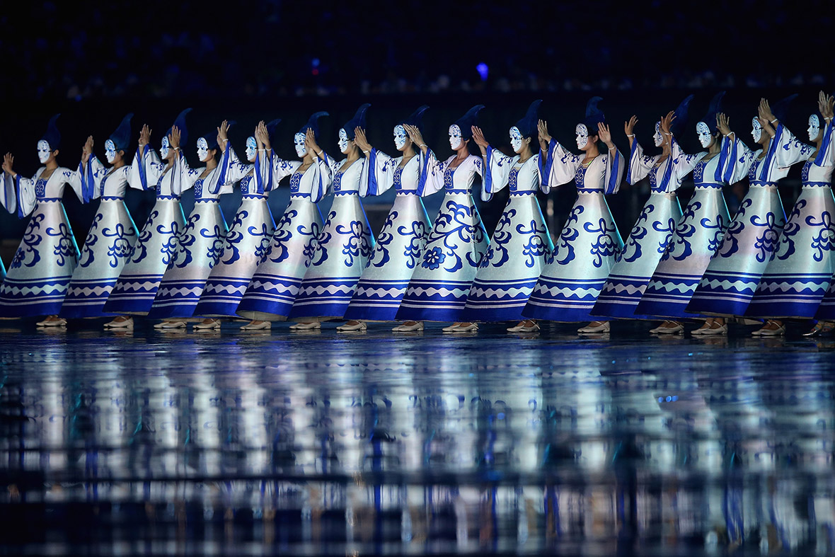 Nanjing Youth Olympics opening ceremony