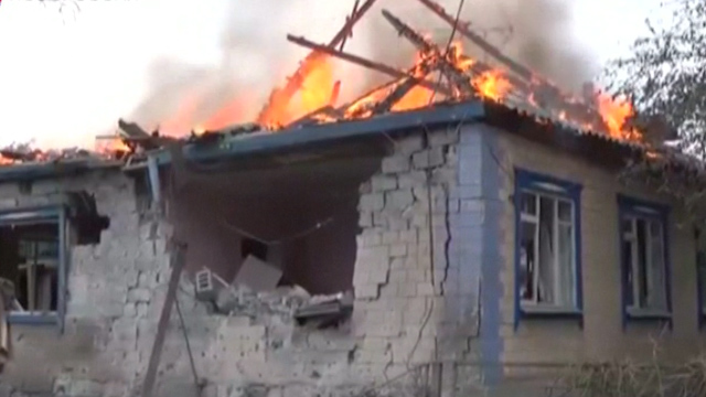 Video Claims to Show Aftermath of Shelling in Ilovaysk