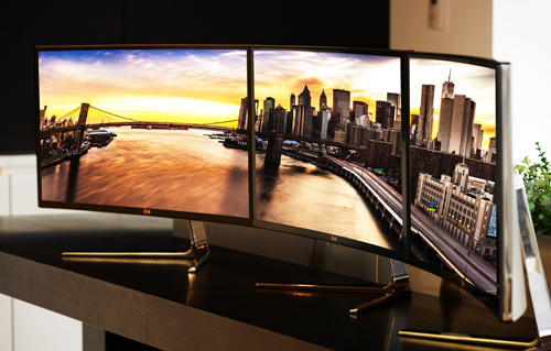 IFA Berlin: LG to Showcase Freakishly Wide 34-inch IPS Monitor Along with new Digital Cinema, Gaming Displays