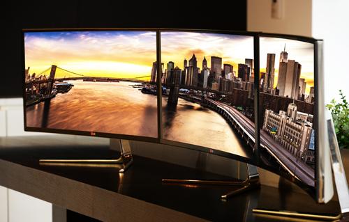 IFA Berlin: LG to Showcase Freakishly Wide 34-inch IPS Monitor Along with new Digital Cinema, Gaming Displays