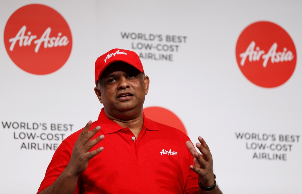 AirAsia CEO Tony Fernandes Dismisses Skymark Buyout Report
