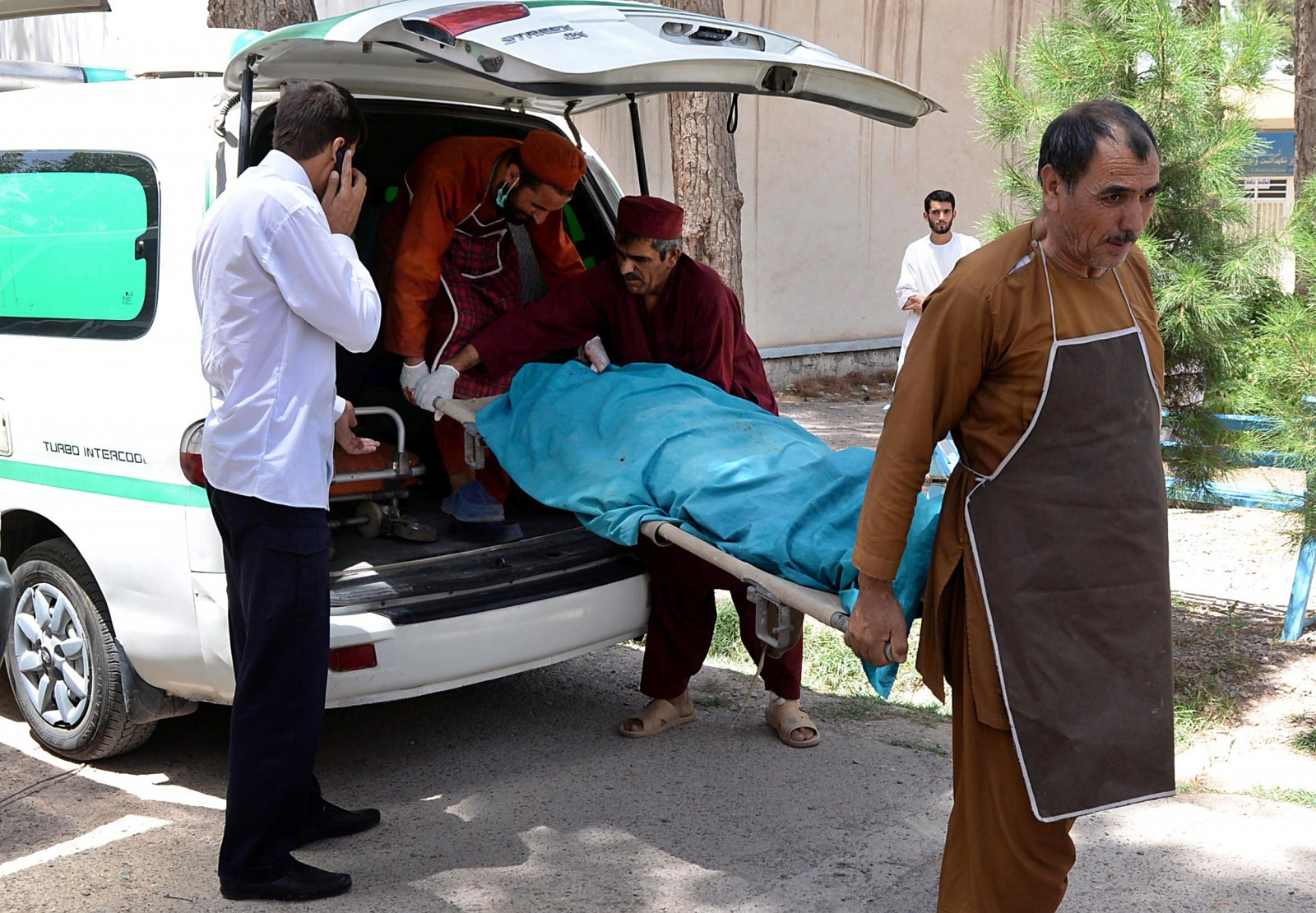 aid workers killed afghanistan