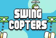 Swing Copter Succeeds Flappy Bird