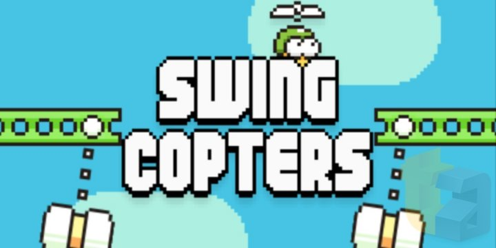 Swing Copter Succeeds Flappy Bird