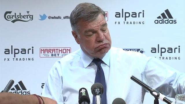 Allardyce: I Don't Fear the Sack