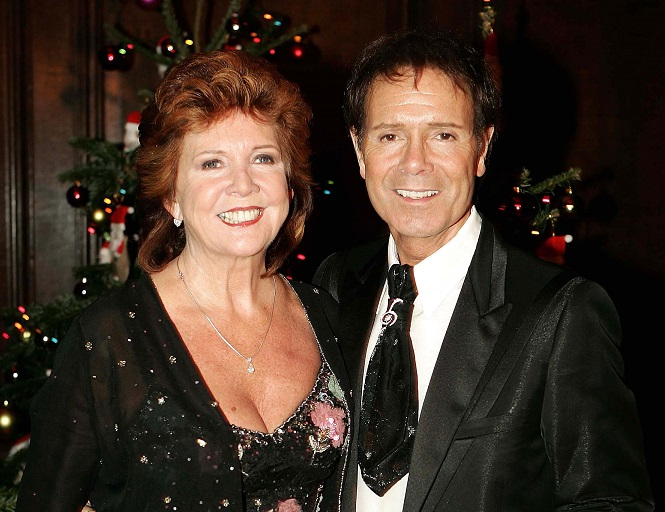 Cilla Black (left) and Cliff Richard are firm friends of 40 years