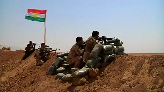 Peshmerga Fighters Recapture Iraq Towns from IS Militants