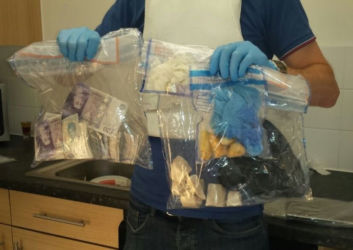 Police seized drugs and guns during raids ahead of Notting Hill Carnival