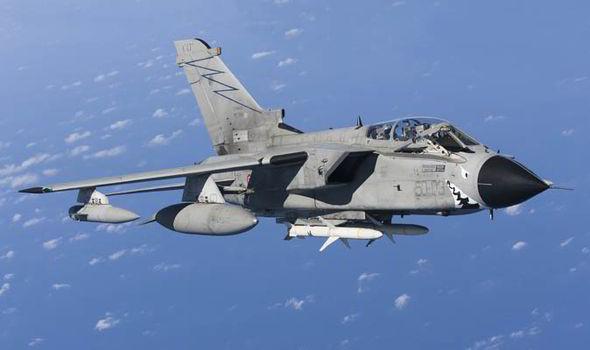 Tornado Fighter Jet.