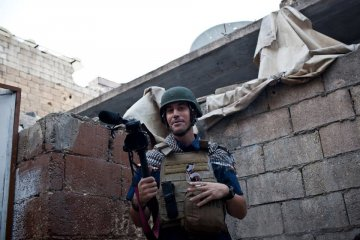 US journalist James Foley beheaded by 'British jihadist'