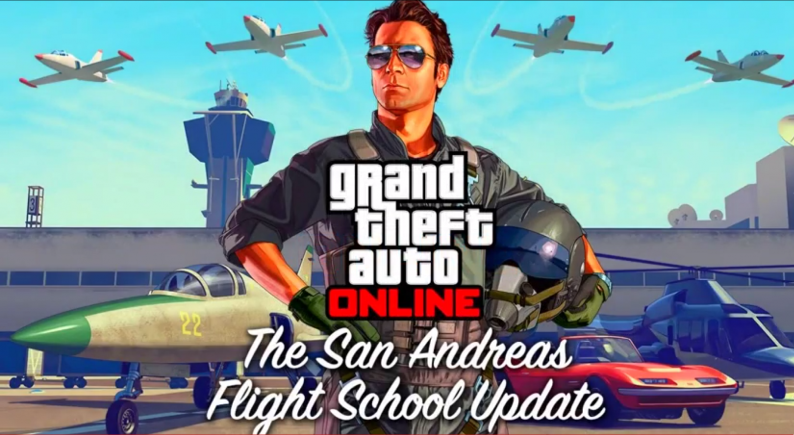GTA 5 Flight School DLC: New Jets, Planes, Helicopters and Cars Gameplay Info Revealed