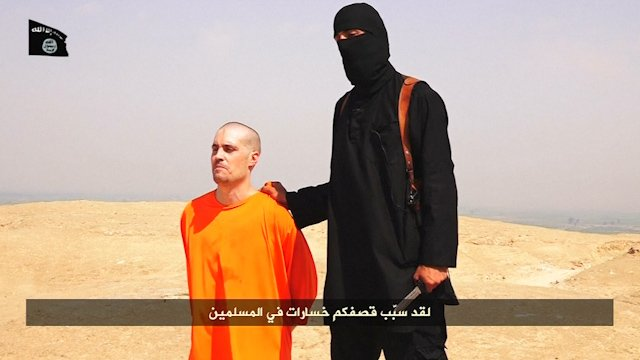 IS Release Horrific Video Showing Apparent Beheading of US journalist James Wright Foley