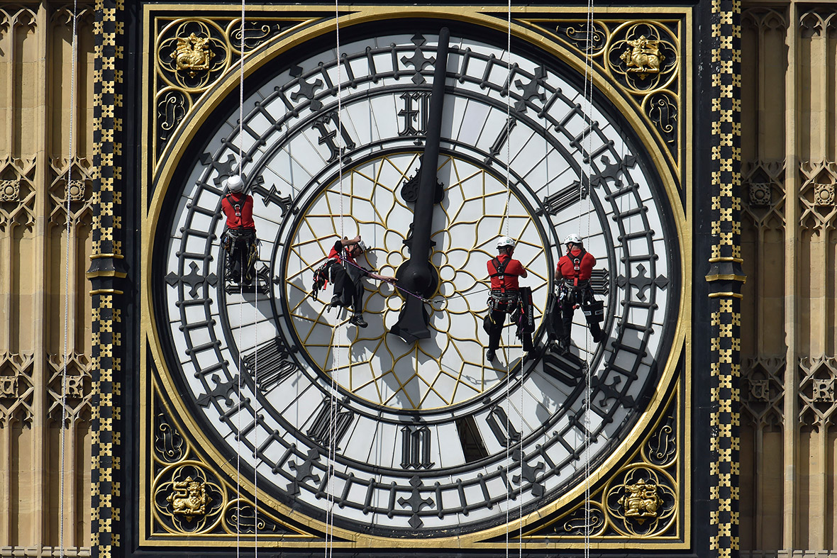 big ben cleaning
