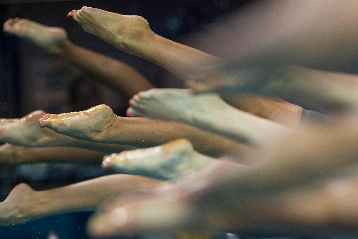 swimmers feet