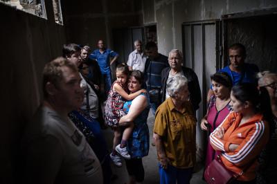 ukraine bomb shelter