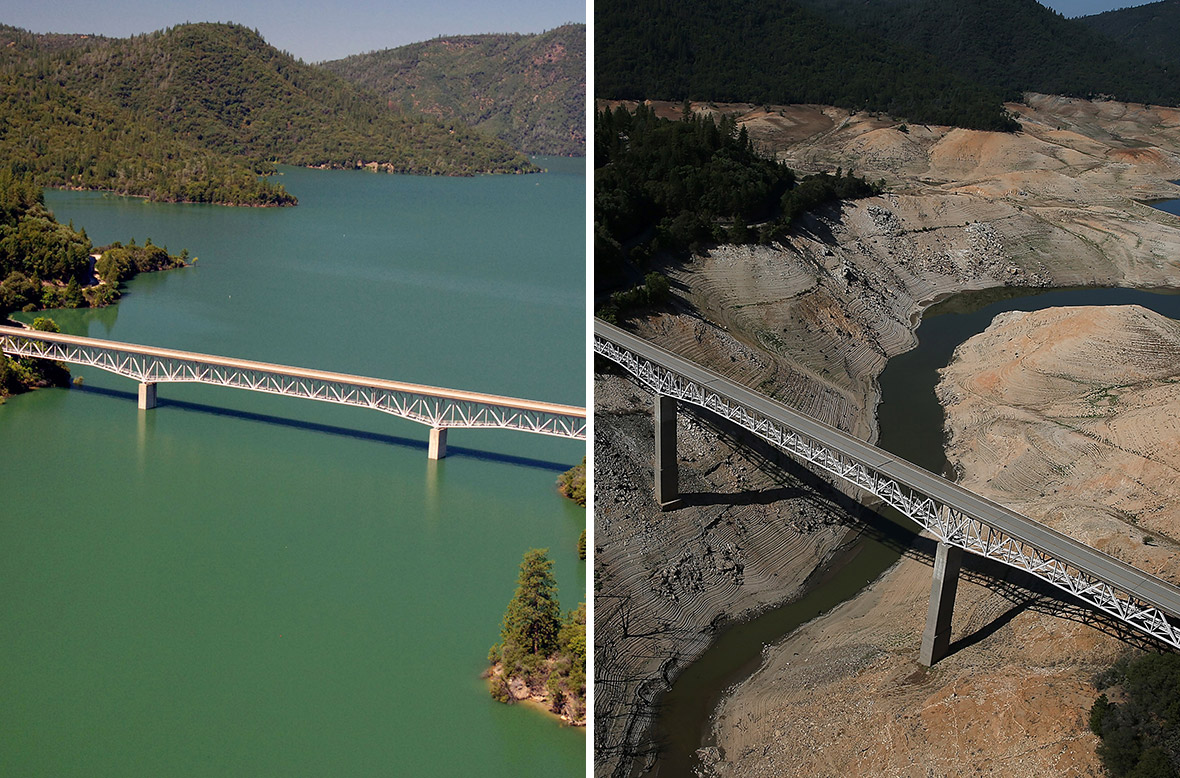 california drought before and after