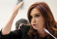 Argentina President Cristina Kirchner