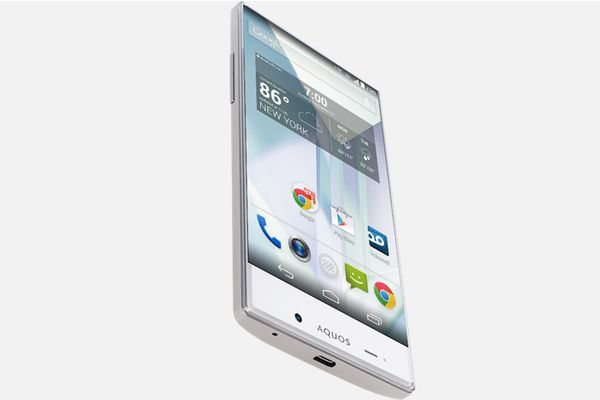 Sharp Aquos Crystal with 5-Inch Edge-to-Edge Display Launched