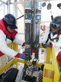 west antarctic drilling