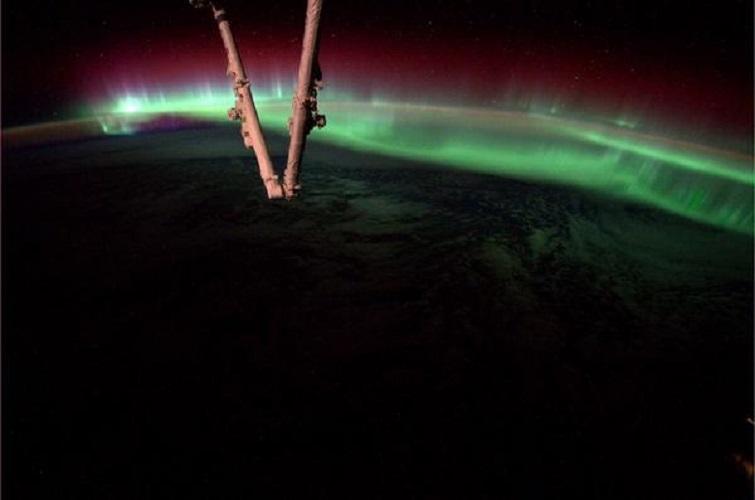 ISS aurora