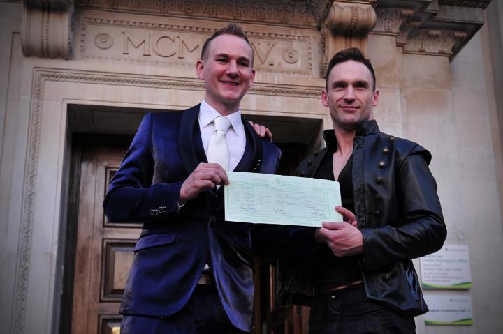 Gay marriage UK