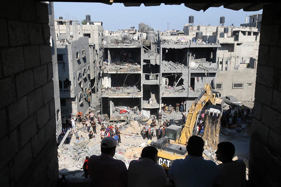 israel gaza airstrikes