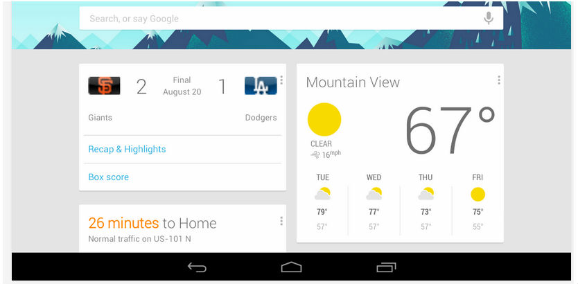 Google Now for Android now Updated to Help You Find Alternative Flights to Your Destination, Along With Other Features
