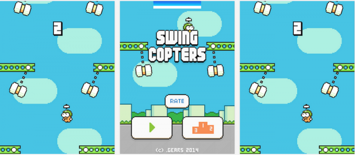 Swing Copters Arrives on iOS and Android