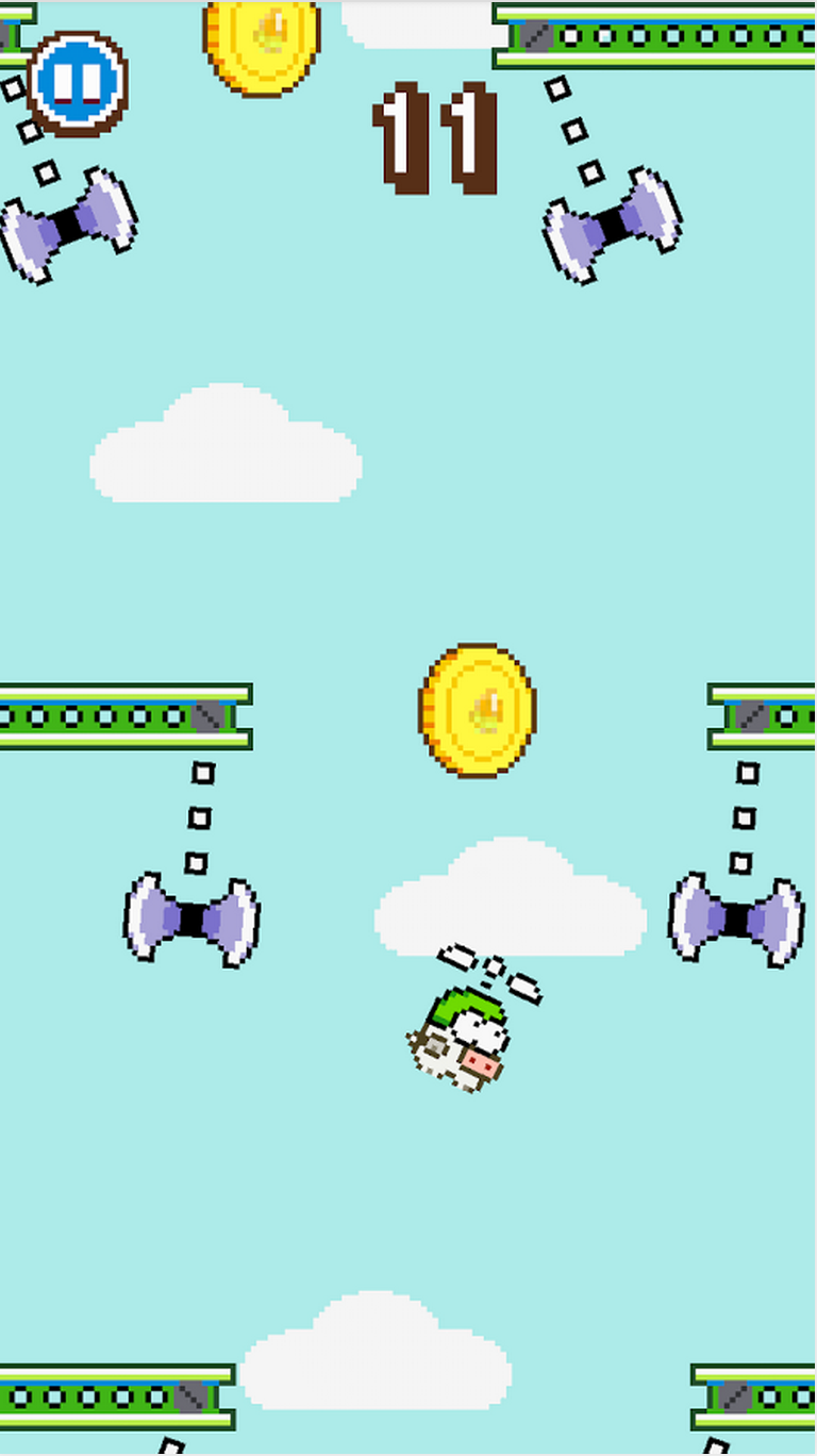 Swing Copters Clone Piggy Copters