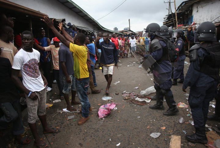 Liberia Ebola