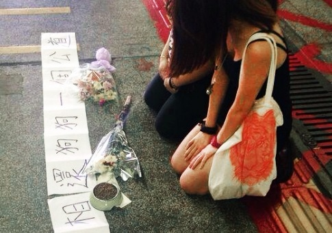 Vigil for dog killed at Farling train station by train