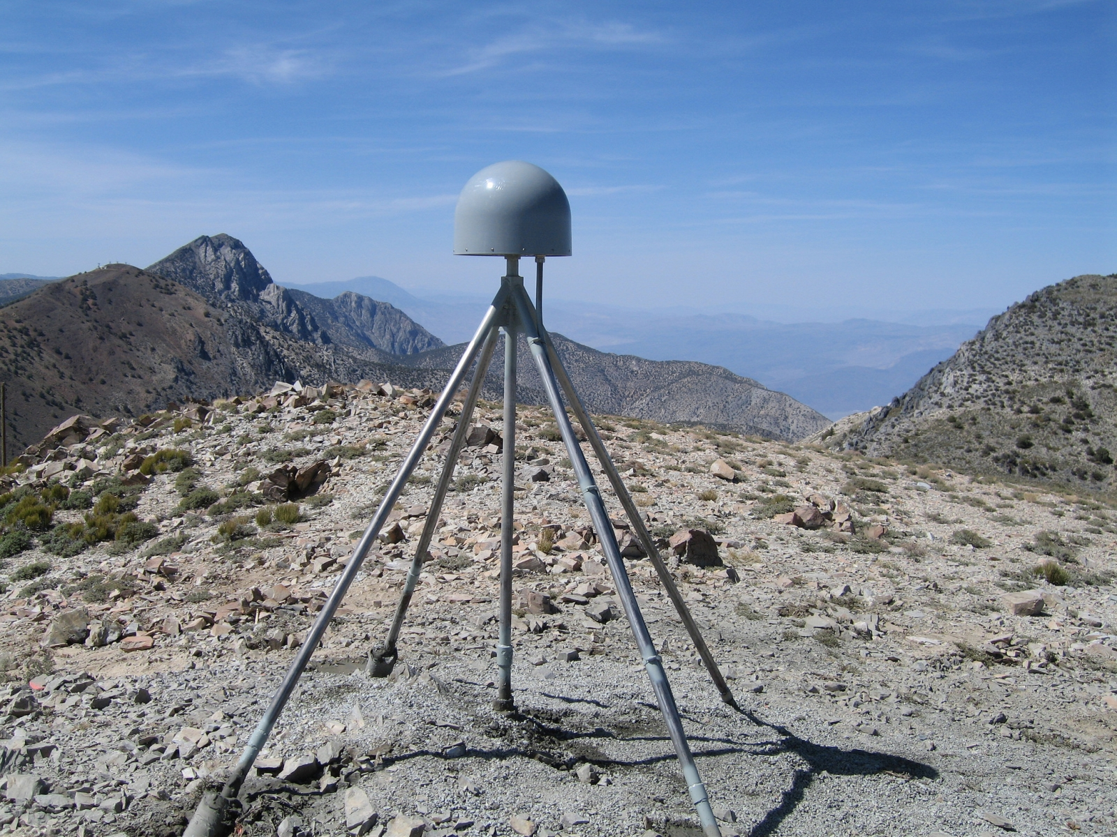 GPS station: Inyo Mountains