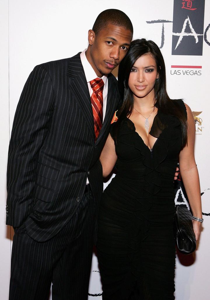 Nick Cannon and Kim Kardashian
