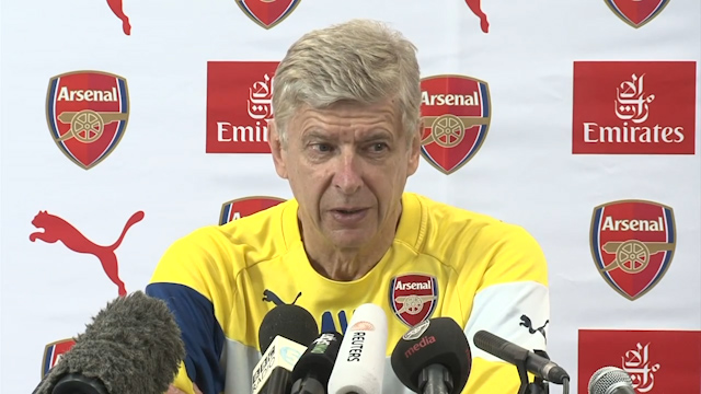 Wenger: I'm Not Finished in the Transfer Market