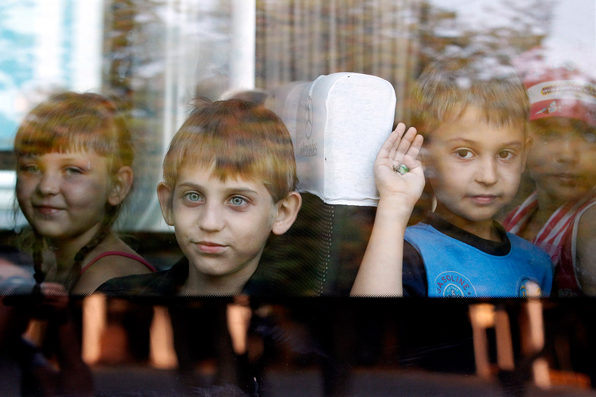 ukraine children