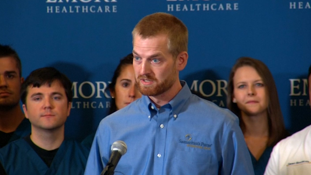 Released US Ebola patient: