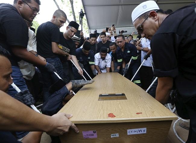 MH17 repatriation ceremony