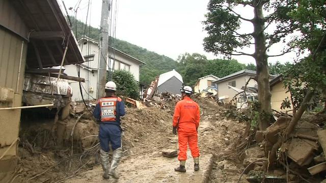 Nearly 90 Feared Dead in Hiroshima Landslides