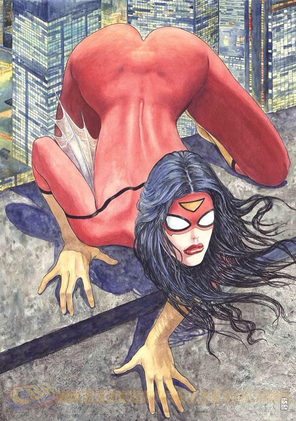 Spider-Woman variant cover